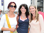 Vanessa Boyle, Karen Murphy and Sue McManus from Mornington and Donacarney pictured at the welcome party for the Oars of hope crew after they rowed from the Isle of Man to Drogheda. Photo: www.colinbellphotos.com