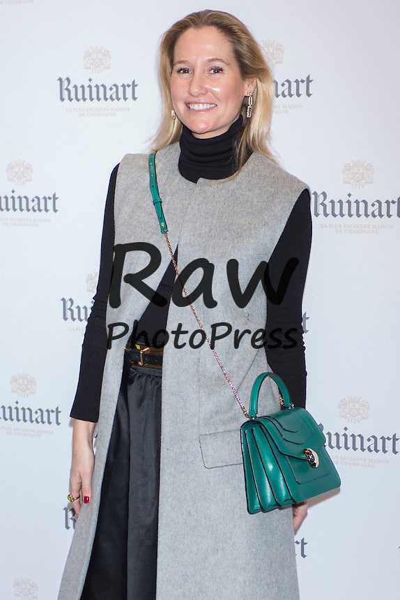 Genoveva Casanova ha presentado el champ&aacute;n Ruinart para celebrar el 35 aniversario de ARCO en Madrid.<br /> <br /> Genoveva Casanova has launched Ruinart champagne to celebrate ARCO's 35th anniversary in Madrid on February 24th, 2016.