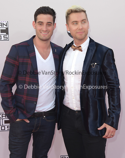 Lance Bass at The 2014 American Music Award held at The Nokia Theatre L.A. Live in Los Angeles, California on November 23,2014                                                                               © 2014 Hollywood Press Agency