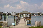 Piers on the Intracoastal Waterway, Wrightsville Beach, NC, USA