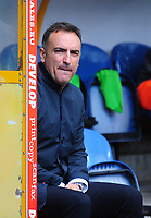 Sheffield Wednesday manager Carlos Carvalhal <br /> <br /> Photographer Andrew Vaughan/CameraSport<br /> <br /> The EFL Sky Bet Championship Play-Off Semi Final First Leg - Huddersfield Town v Sheffield Wednesday - Saturday 13th May 2017 - The John Smith's Stadium - Huddersfield<br /> <br /> World Copyright &copy; 2017 CameraSport. All rights reserved. 43 Linden Ave. Countesthorpe. Leicester. England. LE8 5PG - Tel: +44 (0) 116 277 4147 - admin@camerasport.com - www.camerasport.com