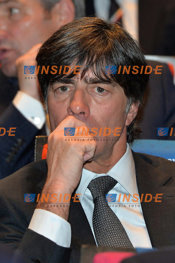 Joachim Low<br /> Parigi 12-12-2015 Sorteggio fase finale Euro 2016 campionato Europeo di Calcio per Nazioni Francia 2016 <br /> Foto Anthony BIBARD / Panoramic / Insidefoto