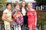 Breda Costello (Tralee), Margaret and Caragh Ashe (Beaufort, Killarney) and Mary Ashe (Keel, Castlemaine), pictured at the Rose of Tralee Fashion Show on Sunday night last held in the Dome, Tralee.