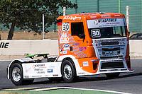 German driver Sascha Lenz belonging German team Sascha Lenz during the super pole SP1 of the XXX Spain GP Camion of the FIA European Truck Racing Championship 2016 in Madrid. October 01, 2016. (ALTERPHOTOS/Rodrigo Jimenez) /NORTEPHOTO.COM
