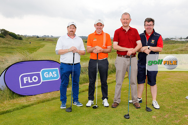 during the Flogas Pro-Am in Portmarnock golf club, Portmarnock, Dublin, Ireland. 29/05/2017.<br /> Picture: Golffile | Fran Caffrey<br /> <br /> <br /> All photo usage must carry mandatory copyright credit (&copy; Golffile | Fran Caffrey)