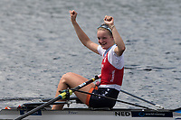 Sarasota. Florida USA.  NED LW1X,  second, Semi Final A/B. 2017 World Rowing Championships, Nathan Benderson Park<br /> <br /> Friday  29.09.17   <br /> <br /> [Mandatory Credit. Peter SPURRIER/Intersport Images].<br /> <br /> <br /> NIKON CORPORATION -  NIKON D500  lens  VR 500mm f/4G IF-ED mm. 200 ISO 1/1250/sec. f 5.6