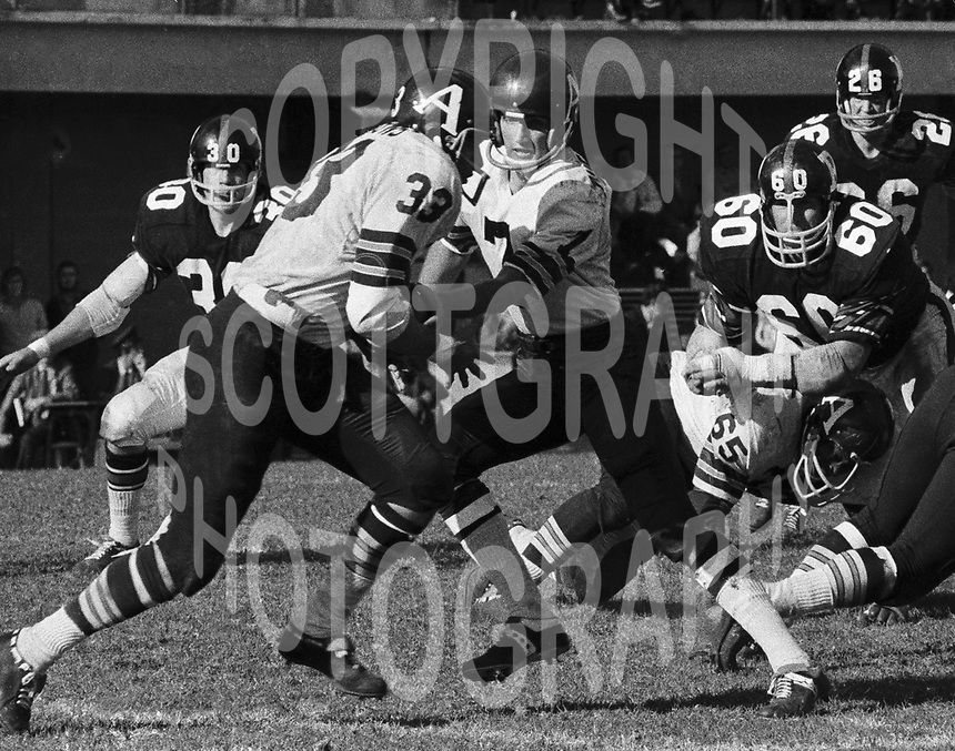 Joe Theismann Toronto Argonauts Quarterback 1971. Copyright photograph Scott Grant