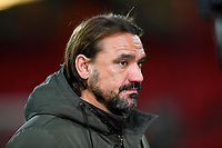 Norwich City Manager Daniel Farke during AFC Bournemouth vs Norwich City, Caraboa Cup Football at the Vitality Stadium on 30th October 2018