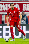 09.11.2019, Allianz Arena, Muenchen, GER, 1.FBL,  FC Bayern Muenchen vs. Borussia Dortmund, DFL regulations prohibit any use of photographs as image sequences and/or quasi-video, im Bild Javi Martinez (FCB #8) <br /> <br />  Foto © nordphoto / Straubmeier