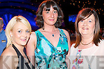 FASHION LOVE: Pleased with the Style at the Rose of Tralee International Fashion Show on Sunday l-r: Emma Quirke, Lisstellick, Aine Murry, Listowel and Cathrine Quirke Lisstellick..   Copyright Kerry's Eye 2008