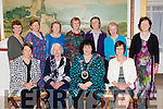 The Killcummin federation with the ICA National President Liz Wall with the Kerry Federation committee at their annual social in the Dromhall Hotel on Sunday afternoon front row l-r: Bridie O'Connor, Hannah Mary Lyne, Phil Doolan. Back row: Eileen Moynihan, Anne McSweeney, Julie O'Connor, Eileen Greaney, Eileen Finn, Voureen O'Donoghue and Mary Cronin