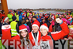 Sarah Commane Breda Commane and Rebecca Kemp, who took part in the Santa 5k fun run at Tralee Bay Wetlands on Sunday.