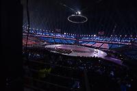 OLYMPIC GAMES: PYEONGCHANG: 09-02-2018, PyeongChang Olympic Stadium, Olympic Games, Opening Ceremony, Entrance USA,©photo Martin de Jong
