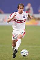 Justin Mapp of the Fire. The Chicago Fire defeated the NY/NJ MetroStars 3-2 on 6/14/03 at Giant's Stadium, NJ..