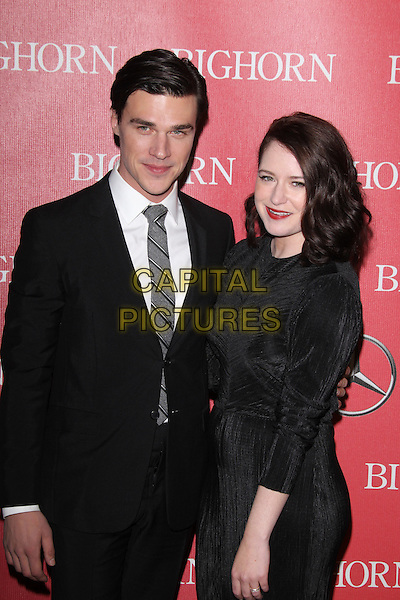 PALM SPRINGS, CA - JANUARY 2: Finn Wittrock and Sarah Roberts at the 27th Annual Palm Springs International Film Festival Awards Gala at Palm Springs Convention Center on January 2, 2016 in Palm Springs, California. <br /> CAP/MPI24<br /> &copy;MPI24/Capital Pictures