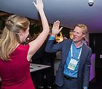BUSSUM -  zangeres met Lodewijk Klootwijk (NVG)   Nationaal Golf Congres & Beurs. COPYRIGHT KOEN SUYK