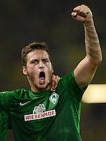 FUSSBALL   1. BUNDESLIGA   SAISON 2012/2013   1. SPIELTAG Borussia Dortmund - SV Werder Bremen                  24.08.2012      Marko Arnautovic (SV Werder Bremen) jubelt nach dem 1:1