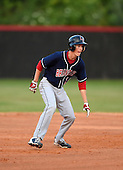 Lake Brantley Patriots Jimmy Howse (16) during a game against the Lake Mary Rams on April 2, 2015 at Allen Tuttle Field in Lake Mary, Florida.  Lake Brantley defeated Lake Mary 10-5.  (Mike Janes Photography)