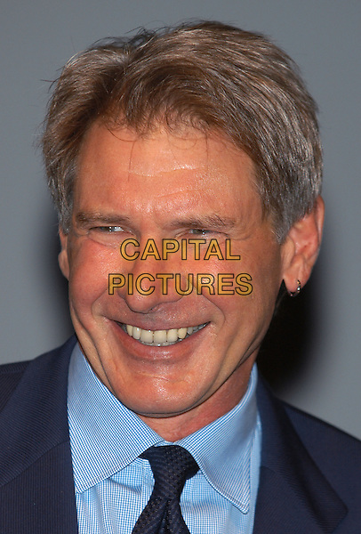 "HARRISON FORD.Photocall for film ""K-19"".Deauville Film Festival, France, 3rd October 2002..portrait headshot earring.Ref: PL.www.capitalpictures.com.sales@capitalpictures.com.©Capital Pictures."