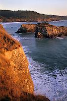 California, Mendocino , Mendocino Headlands State Park, Coastal bluffs