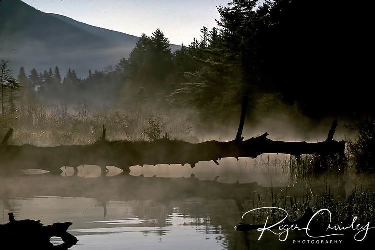 Roger Crowley / CrowleyPhotos.com..An outlet on Kidney Pond in Baxter State Park in Maine..