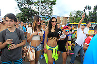 Día Sin Pantalones / Day Without Pants, Medellín 01-03-2015