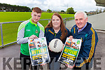 Moyvane GAA are planning a video race night fundraiser for the club tonight (Thursday) in Speedy's Bar. Pictured from l-r were: Timmy Noonan (Senior Player), Aine Cronin (Secretary) and Martin Kennelly (Treasurer).