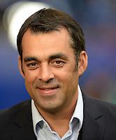 FUSSBALL   1. BUNDESLIGA   SAISON 2013/2014   6. SPIELTAG Hamburger SV - SV Werder Bremen                       21.09.2013 Trainer Robin Dutt (SV Werder Bremen)