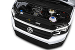 Car stock 2017 Volkswagen Crafter Base 4 Door Cargo Van engine high angle detail view