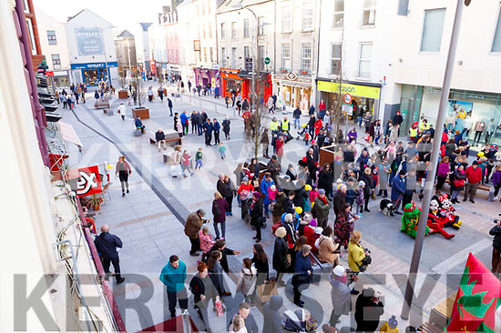 Activity in the Mall during the Kerry County Council and Tralee Chamber Alliance will Street Party and Family Fun Day on Saturday last
