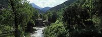 Europe/France/Provence-Alpes-Côtes d'Azur/06/Alpes-Maritimes/Alpes-Maritimes/Arrière Pays Niçois/La Brigue: Le Vieux Moulin sur la Levense
