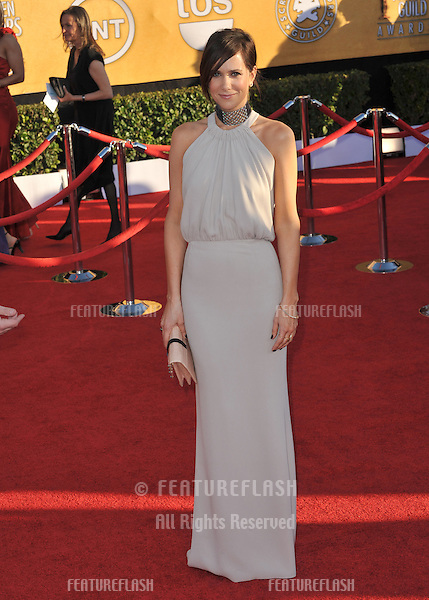 Kristen Wiig at the 17th Annual Screen Actors Guild Awards at the Shrine Auditorium, Los Angeles..January 29, 2012  Los Angeles, CA.Picture: Paul Smith / Featureflash