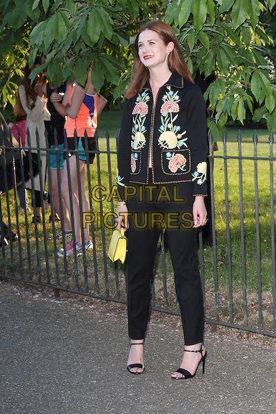 LONDON, UNITED KINGDOM - JULY 01: Bonnie Wright attends the annual Serpentine Gallery Summer Party at The Serpentine Gallery on July 1, 2014 in London, England<br /> CAP/ROS<br /> &copy;Steve Ross/Capital Pictures
