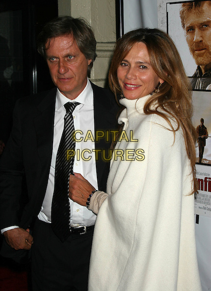"LASSE HALLSTROM.""An Unfinished Life""  - After Party Arrivals at Megu Resturant in New York City.September 7, 2005.half length director white coat.www.capitalpictures.com.sales@capitalpictures.com.©Capital Pictures"