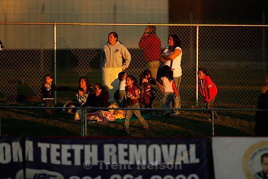 Davis defeats Pleasant Grove 17-9 in high school football playoff action, Friday, November 6 2009 in Kaysville. fans