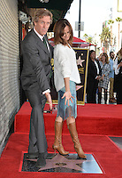 LOS ANGELES, CA. October 25, 2016: Hugh Laurie &amp; Diane Farr at the Hollywood Walk of Fame star ceremony honoring British actor Hugh Laurie.<br /> Picture: Paul Smith/Featureflash/SilverHub 0208 004 5359/ 07711 972644 Editors@silverhubmedia.com