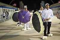 ÃO PAULO,SP,10 JANEIRO 2013 - ENSAIO CARNAVAL - Integrantes da  Escola de Samba academicos do Tatuapé  durante ensaio tecnico realizado na noite desta quinta-feira, 10 no Sambodromo do Anhembi .FOTO ALE VIANNA - BRAZIL PHOTO PRESS.