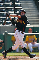 March 16 2009: Robert Stock of the USC Trojans during game against the Winthrop Eagles at Dedeaux Field in Los Angeles,CA.  Photo by Larry Goren/Four Seam Images