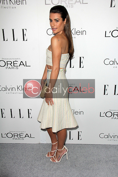 """Lea Michele<br /> at the Elle 20th Annual """"Women In Hollywood"""" Event, Four Seasons Hotel, beverly Hills, CA 10-21-13<br /> David Edwards/Dailyceleb.com 818-249-4998"""