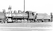Fireman's-side view of C&amp;S #76 at Denver.<br /> C&amp;S  Denver, CO  Taken by Perry, Otto C. - 8/9/1927