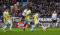 Bolton Wanderers' Sammy Ameobi scoring his side's first goal <br /> <br /> Photographer Andrew Kearns/CameraSport<br /> <br /> The EFL Sky Bet Championship - Bolton Wanderers v Rotherham United - Wednesday 26th December 2018 - University of Bolton Stadium - Bolton<br /> <br /> World Copyright © 2018 CameraSport. All rights reserved. 43 Linden Ave. Countesthorpe. Leicester. England. LE8 5PG - Tel: +44 (0) 116 277 4147 - admin@camerasport.com - www.camerasport.com