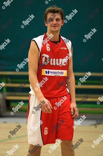 2010-10-02 / Basketbal / seizoen 2010-2011 / BBC Willebroek / Bart Van Breedam..Foto: Mpics