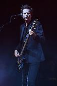 MIAMI BEACH, FL - FEBRUARY 12: John Taylor of Duran Duran performs at the Fillmore on February 12, 2019 in Miami Beach, Florida. Credit Larry Marano © 2019