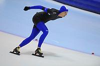 SCHAATSEN: HEERENVEEN: Thialf, 4th Masters International Speed Skating Sprint Games, 25-02-2012, Marja Smies-Oenema (F50) 2nd, ©foto: Martin de Jong