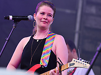 Washington, DC - June 9, 2019: Michi performs at the Capital Pride concert in Washington, DC June 9, 2019. (Photo by Don Baxter/Media Images International)