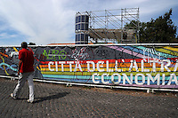 Festa Nazionale dell' Altra Economia. Roma. National Day for other economy. Rome...