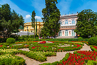 Croatia, Kvarner Gulf, Opatija: park and villa Angionina, today museum for tourism | Kroatien, Kvarner Bucht, Opatija: Park und Villa Angiolina, in der heute das Museum für Tourismus untergebracht ist