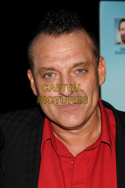 "Tom Sizemore.""Goats"" Los Angeles Premiere held at the Landmark Theatre, Westwood, California, USA. .August 8th, 2012.headshot portrait black red shirt.CAP/ADM/BP.©Byron Purvis/AdMedia/Capital Pictures."