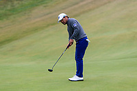 Yusaku Miyazato (JPN) on the 6th green during Round 2 of the Irish Open at LaHinch Golf Club, LaHinch, Co. Clare on Friday 5th July 2019.<br /> Picture:  Thos Caffrey / Golffile<br /> <br /> All photos usage must carry mandatory copyright credit (© Golffile | Thos Caffrey)
