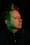 LOS ANGELES, CA. MARCH 10, 2017: English singer, songwriter, and musician John Lydon, also known by his former stage name Johnny Rotten, photographed at The Record Parlour in the Hollywood neighborhood of Los Angeles, California on Friday, March 10, 2017. (Photo by Brinson+Banks)